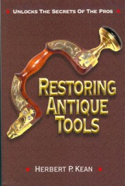 RESTORING ANTIQUE TOOLS by HERBERT KEAN