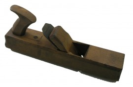 18th CENTURY HANDLED CORNICE PLANE